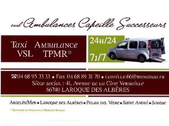 AMBULANCE CAPEILLE SUCCESSEURS