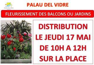 «FLEURISSEMENT DES BALCONS OU JARDINS»