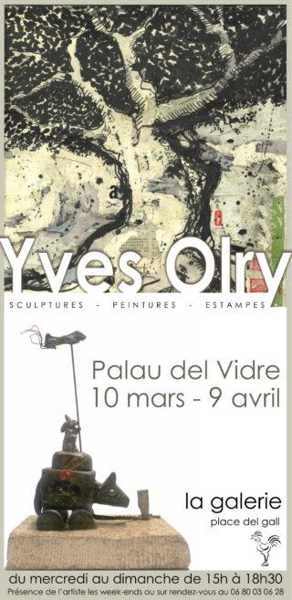 Yves Olry à La Galerie du 10 mars au 9 avril 2017