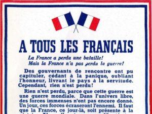 78ème anniversaire de l'Appel Historique du 18 juin 1940 @ Stèle Avenue de la libération