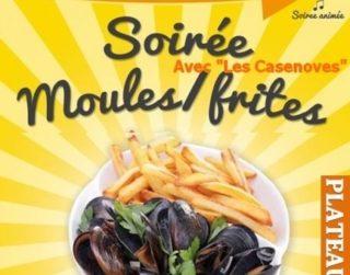 Soirée Moules frites samedi 22 juillet 2017
