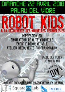 ROBOT KIDS @ Foyer François Tané | Palau-del-Vidre | Occitanie | France