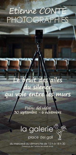 Etienne Conte à la Galerie du 30 septembre au 6 novembre 2016