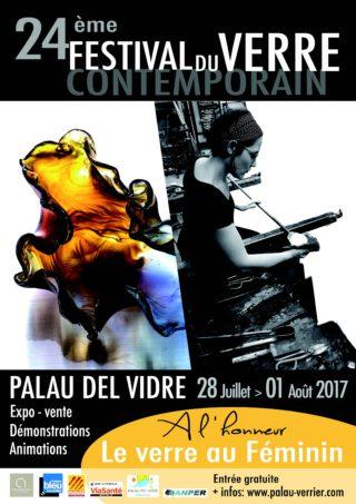 24 ème Festival International du Verre Contemporain