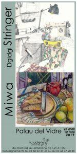 Ouverture et vernissage de l'exposition Miwa et Dgidgi Stringer @ La Galerie  | Palau-del-Vidre | Occitanie | France