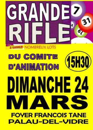 GRANDE RIFLE DU COMITE