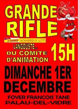 GRANDE RIFLE DE NOEL DU COMITE