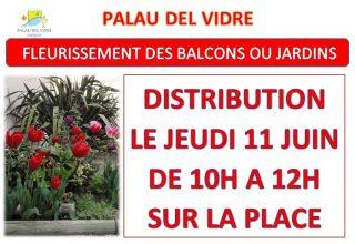 «FLEURISSEMENT DES BALCONS OU JARDINS» REPORTE A CAUSE DE LA PLUIE