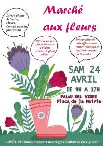 Marché aux fleurs @ Palau-del-Vidre | Occitanie | France